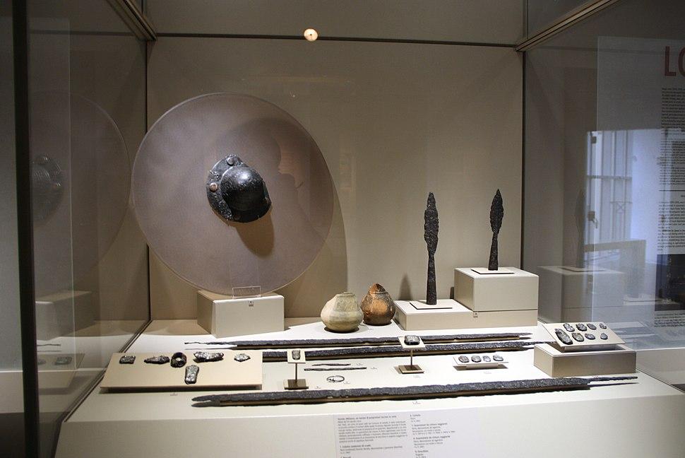 0815 - Museo archeologico di Milano - Corredo longobardico (sec. VI-VII) - Foto Giovanni Dall'Orto, 13-mar-2012