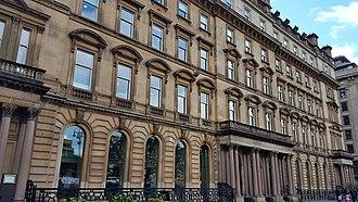 George Square, Edinburgh - 1-7 George Square, the old General Post Office