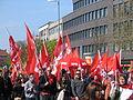 1. Mai 2013 in Hannover. Gute Arbeit. Sichere Rente. Soziales Europa. Umzug vom Freizeitheim Linden zum Klagesmarkt. Menschen und Aktivitäten (169).jpg