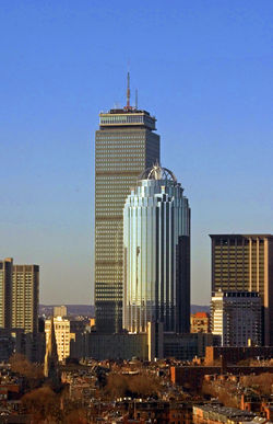 Prudential Center, Back Bay, Boston