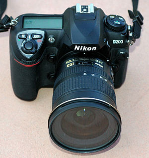 Nikon D200 - Nikon D200 with 12-24mm DX Nikkor lens
