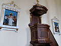 130413 Pulpit of Saint John the Baptist church in Cegłów - 01.jpg