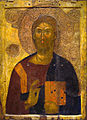 14th century Icon of Christ Pantokrator, Athens.jpg