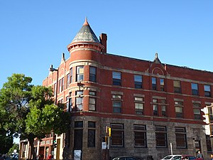 National Register of Historic Places listings in Eau Claire County, Wisconsin - Image: 15 21 South Barstow Street, Eau Claire, Wisconsin