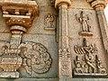 15th century Hazara Rama temple Krishna with flute, Hampi Hindu monuments Karnataka 2.jpg