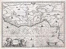 Gabon-History-1670 Ogilby Map of West Africa ( Gold Coast, Slave Coast, Ivory Coast ) - Geographicus - Guinea-ogilby-1670