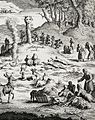 1724 fr. Religious Ceremonies of the World by Picart, Nordic Sami people.jpg