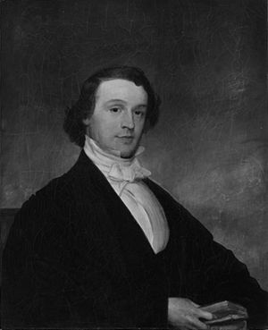 George Edward Ellis - 1844 portrait by Francis Alexander