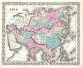 1855 Colton Map of Asia - Geographicus - Asia-colton-1855.jpg