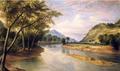 1855 OhioRiver Near Marietta byHCPratt.png