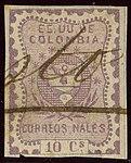 1867 10c EU de Colombia pen Pasto Yv35.jpg