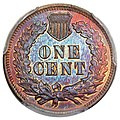 1877 1C Proof Red and Brown (rev).jpg