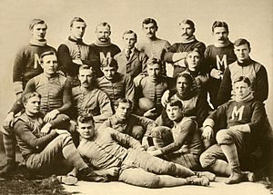 1892 Michigan Wolverines football team - Image: 1892 Michigan Wolverines football team(1)