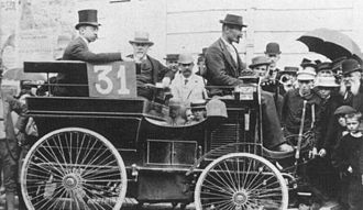 "Paris–Rouen (motor race) - Émile Kraeutler finished 6th in a 3 hp Peugeot ""break""."