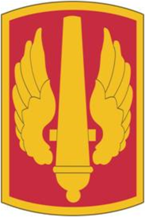 18th Field Artillery Brigade - Shoulder sleeve insignia (SSI)