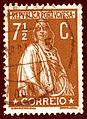1912 Bistre Portugal Yv213.jpg