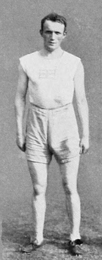 Athletics at the 1912 Summer Olympics – Men's decathlon - Image: 1912 Hugo Wieslander