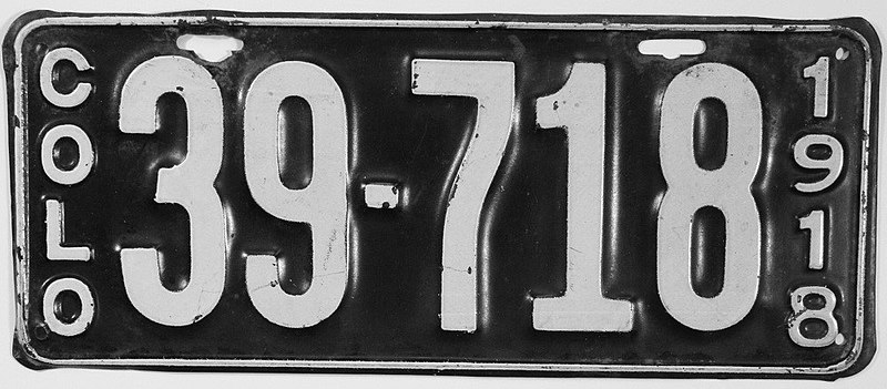 File:1918 Colorado license plate.jpg