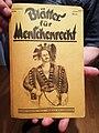 1926-09 Blätter für Menschenrecht Titelblatt Wilhelm Kunst mit Rainer Hoffschildt.jpg