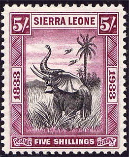Postage stamps and postal history of Sierra Leone