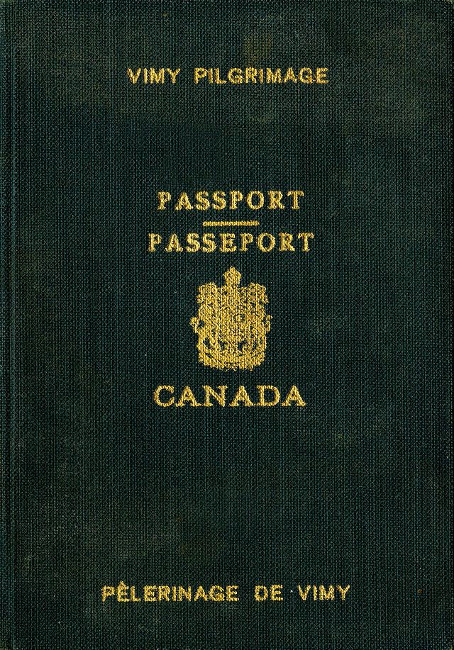 Pasaporte canadiense - Wikiwand
