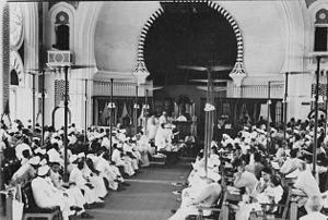 Tamil Nadu Legislative Assembly - First Assembly of the Madras Presidency meeting in the Senate House, Madras University (1937)