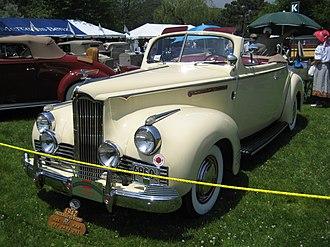 Packard One-Ten - 1942 Packard Model 110 convertible