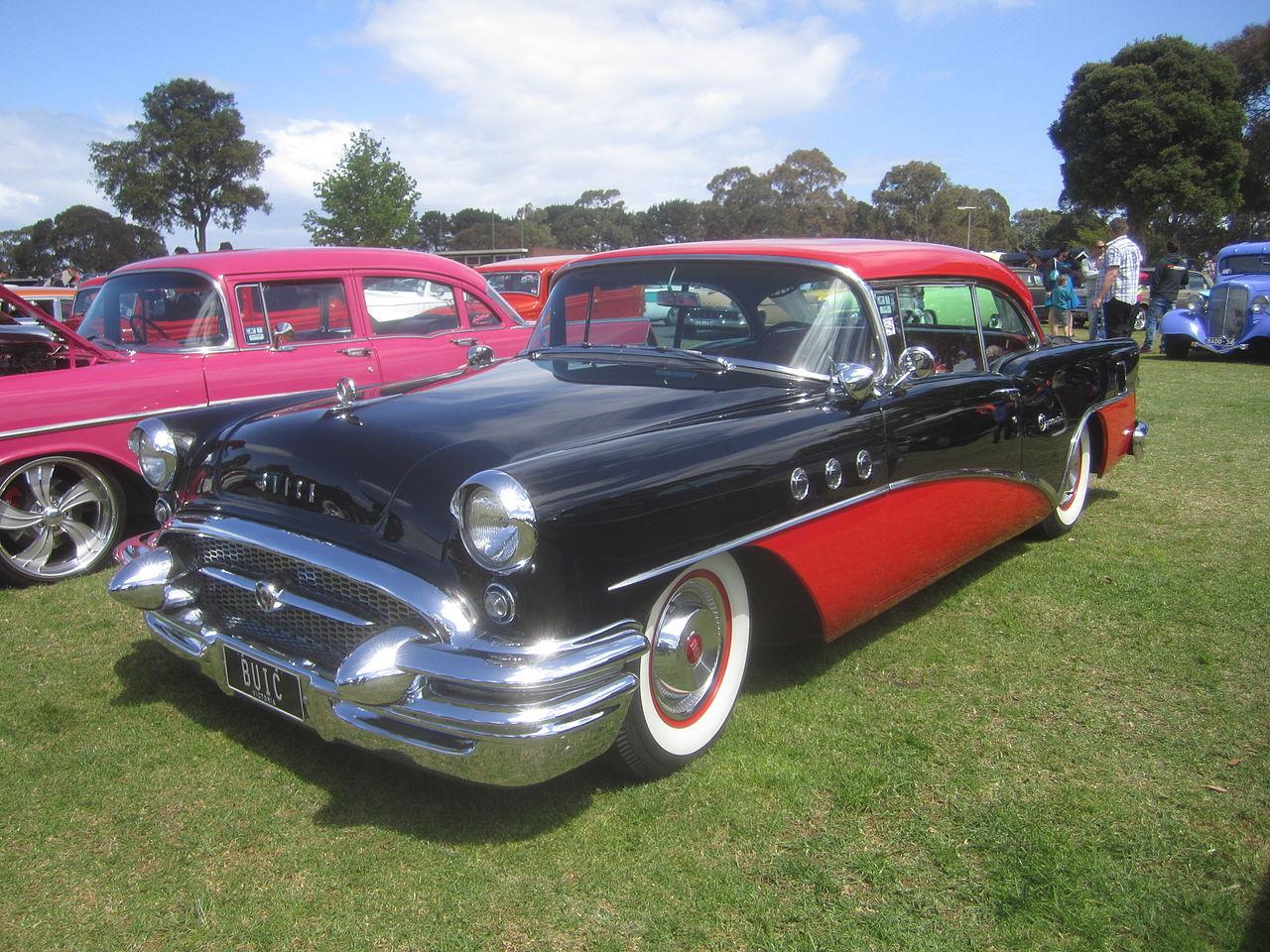 File 1955 buick 40 special 2 door wikimedia for 1954 buick roadmaster 4 door