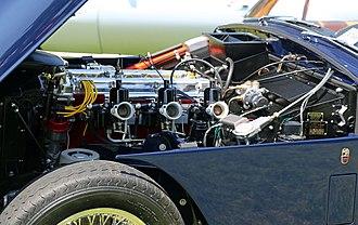 Lagonda straight-6 engine - Aston Martin Lagonda DBD engine in a 1959 DB 2/4 Mark III