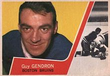 Description de l'image 1963 Topps Jean-Guy Gendron.JPG.
