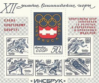 1976 Winter Olympics medal table Wikimedia list article