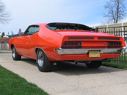 Ford Torino Cobra Shown With Optional Sport Slats And Magnum  Wheels