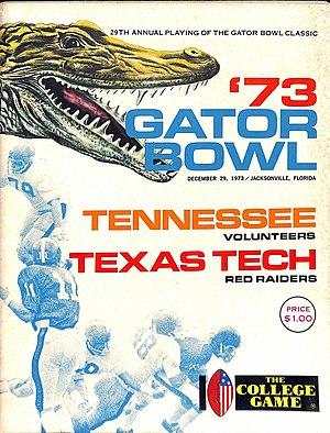TaxSlayer Bowl - 1973 Gator Bowl Game Program