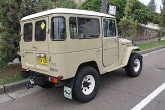 Toyota Land Cruiser (J40) - Toyota Land Cruiser hardtop (Australia)
