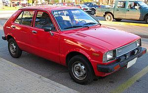 Daihatsu Charade - Facelift Daihatsu Charade (G20)