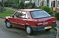1989 Peugeot 309 GL Automatic (11712969876).jpg