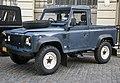 1991 Land Rover Defender 90 200TDI pickup in blue, front left.jpg