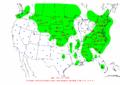 2002-10-12 24-hr Precipitation Map NOAA.png