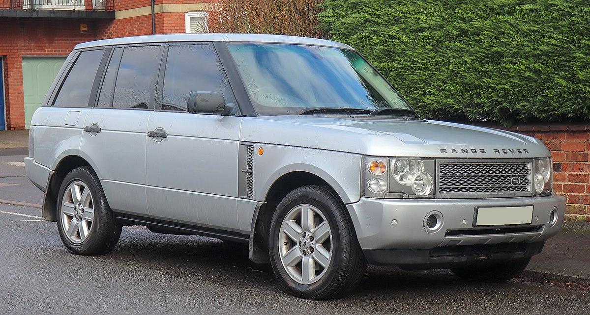 Range Rover Car >> Range Rover (L322) - Wikipedia
