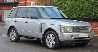 Range Rover (L322) SUV model from Land Rover
