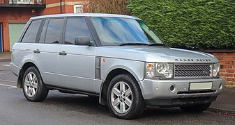 2002 Land Rover Range Rover Vogue V8 Automatic 4.4 Front.jpg