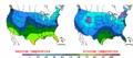 2004-01-17 Color Max-min Temperature Map NOAA.png