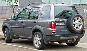 Land Rover Freelander - Facelift Land Rover Freelander (Australia)