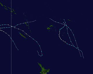 2005–06 South Pacific cyclone season cyclone season in the South Pacific ocean