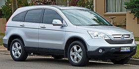 2007 2009 Honda CR V (RE MY2007) Sport Wagon 01