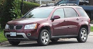 Pontiac Torrent Motor vehicle