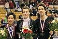 2009 Skate Canada Men - Podium - 6177a.jpg