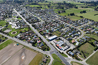 Minor urban area in Canterbury, New Zealand