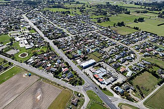 Woodend, New Zealand - Woodend in 2010