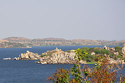 The southern shores of Lake Victoria.